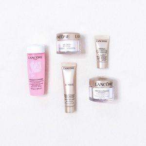 Lancôme Skincare Absolue Deluxe Sample Set Cleanser Toner Serum Face Eye Cream